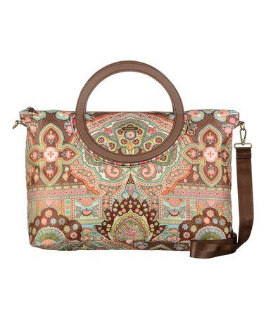 Look what I found on #zulily! Cappuccino City Carry All Bag #zulilyfinds