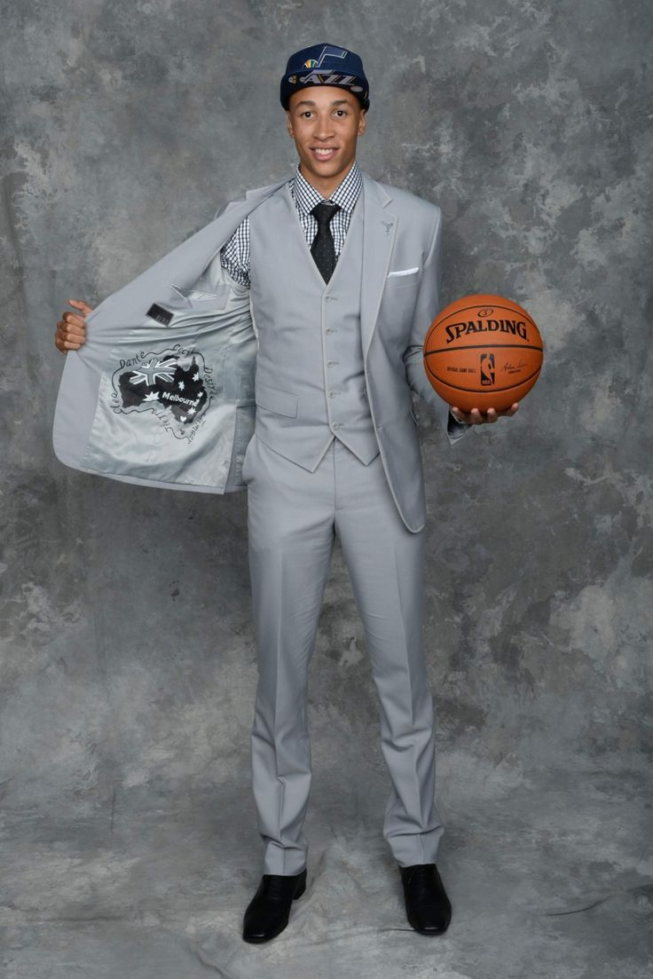 Best-Dressed NBA Rookies - Dante Exum, Utah Jazz