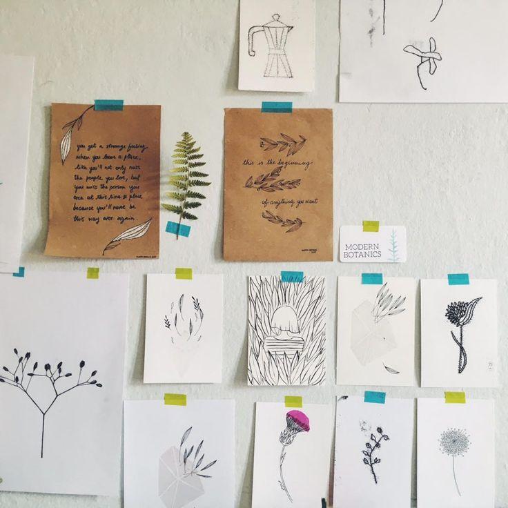 a little studio tour • Modern Botanics