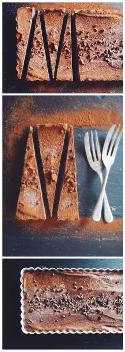 Raw + Vegan Chocolate and Cashew Tart