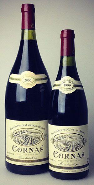 Verset Cornas: 1999 & 2000 Mags  There's simply nothing like Noël Verset's Cornas. #wine #rhone #northernrhone #cornas