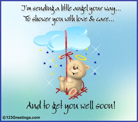 'Get Well Soon' Message.