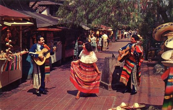 Olvera Street is the oldest street in Los Angeles. It is part of the El Pueblo de Los Angeles Historic District, dating back to 1781.