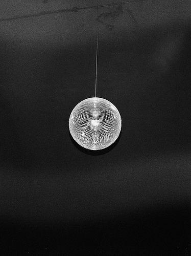 Disco mirrored ball