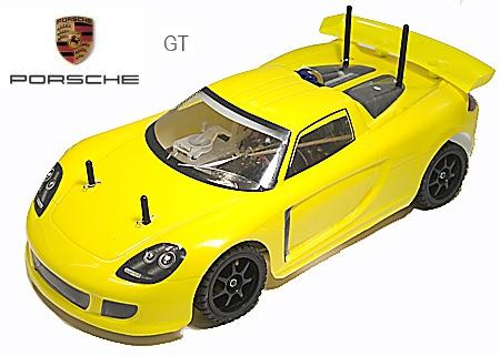 Porsche GT Nitro RC Car 2 Speed 4WD 1/10