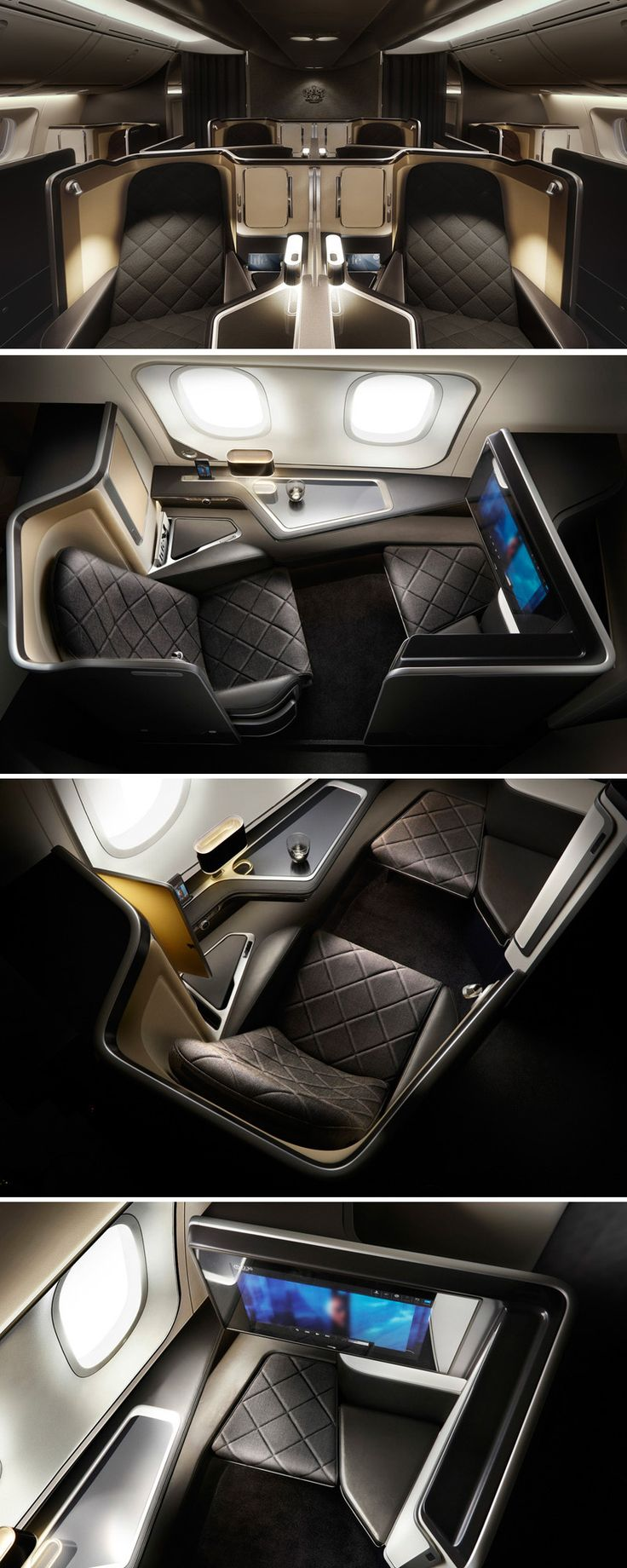 Bucket list dreams! - Take A Look At The First-Class Seats In British Airways' New Dreamliner #HiltonStory