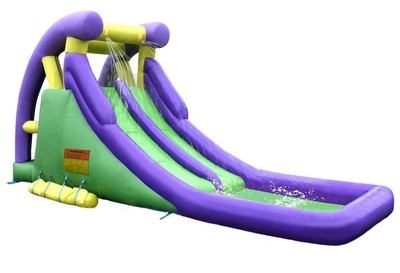 NEW DOUBLE WATER SLIDE INFLATABLE Bouncer Slide Outdoor WaterSlide