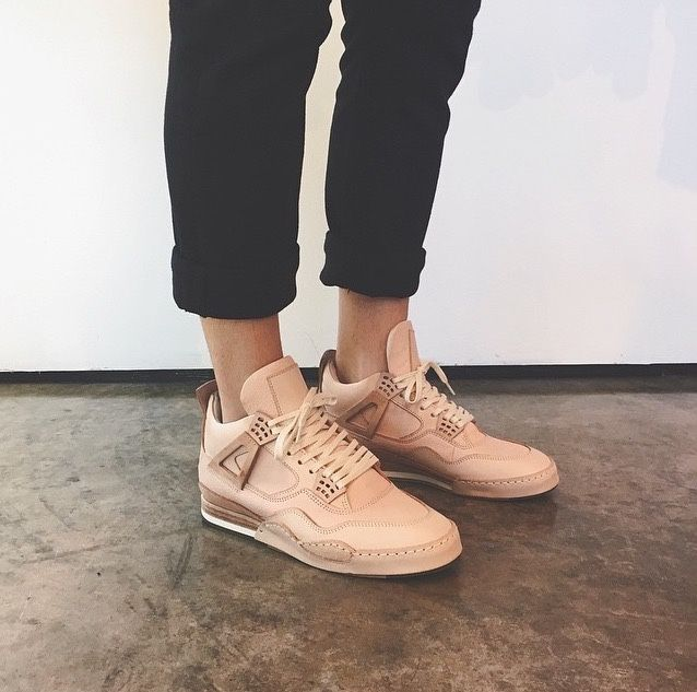 Rose gold sneakers? We're in love.