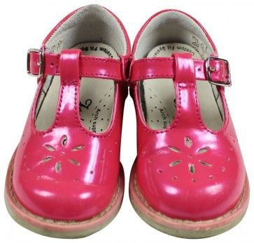 FootMates TStrap Mary Jane Shoe Hot Pink Size 6