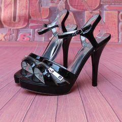 Счетчик голова рыбы супер-высоких каблуках обувь женская обувь корова кожаные туфли новые сандалии специальное предложение бесплатная доставка A4-21