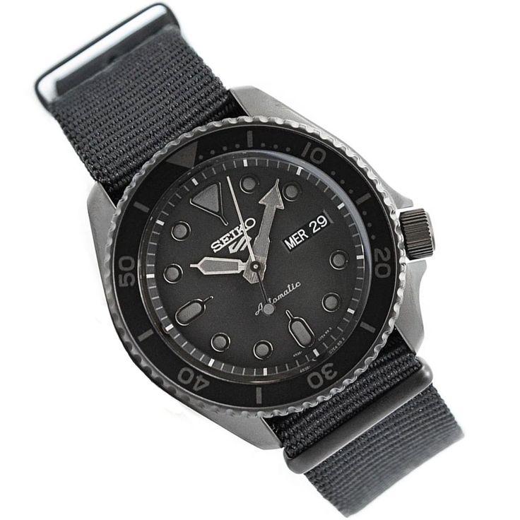Seiko 5 Sports Automatic Black Dial Male Watch SRPD79K1
