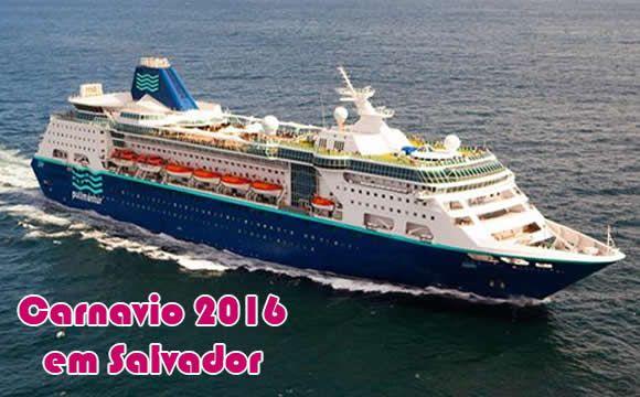 Carnavio em Salvador - Seu carnaval 2016 em um cruzeiro #carnaval #salvador #viagem #cruzeiros #2016
