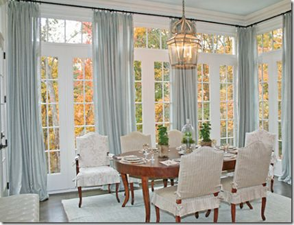 Inspirational Curtain Ideas for Dining Room