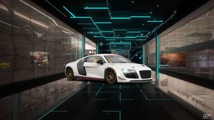 Checkout my tuning #Audi #R8 2107 at 3DTuning #3dtuning #tuning