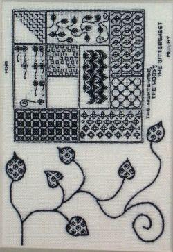 Embroidered Fables Art - Blackwork 1