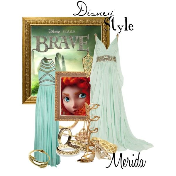 """Disney Style : Merida"" by missm26 on Polyvore"