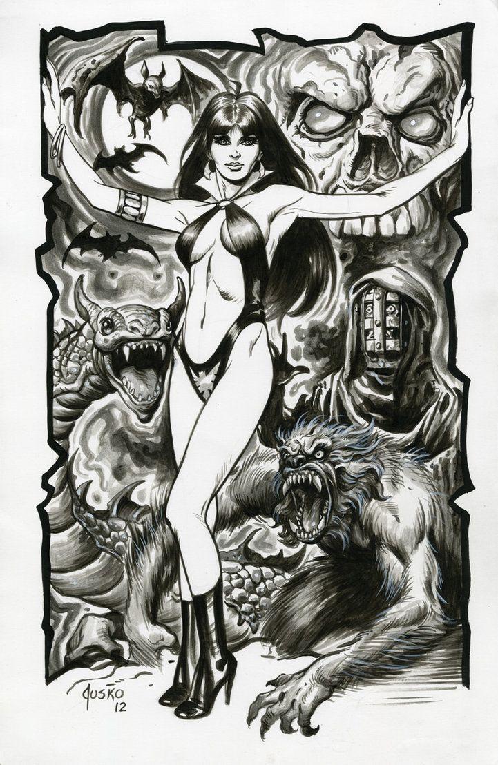 Vampirella by Joe Jusko