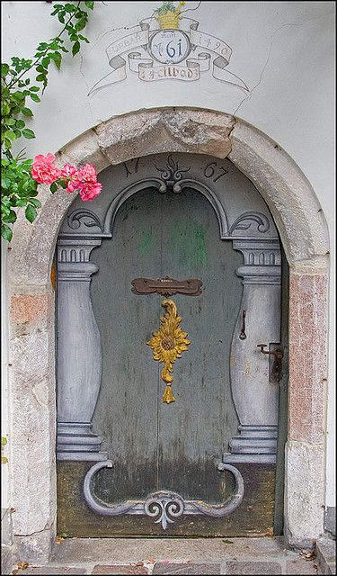 Doorway in Austria