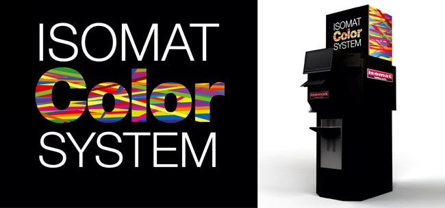 Discover ISOMAT COLOR SYSTEM's 1950 unique color shades.