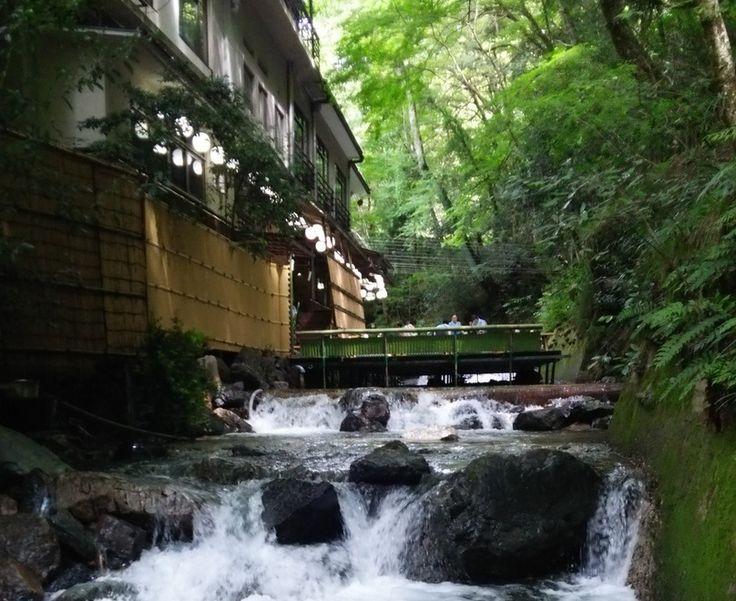 Japanese Style Patio Experience in Kibune, Kyoto