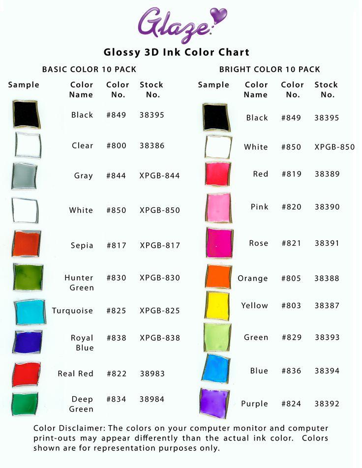 gelly roll pen colour chart Journal techniques
