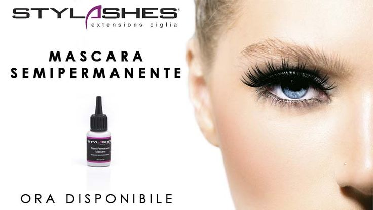 Mascara semipermanente Stylashes extension ciglia Semipermanent mascara Stylashes lash extensions
