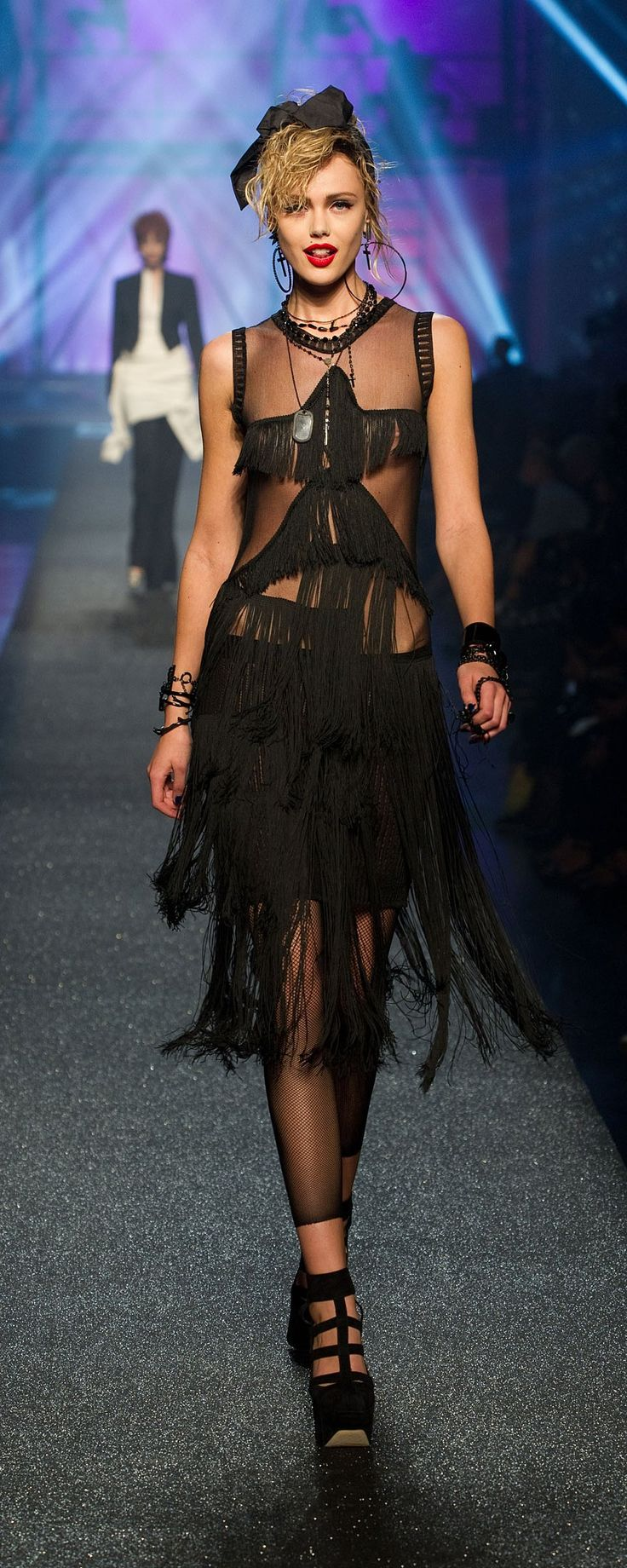 Jean Paul Gaultier Spring-summer 2013 - Ready-to-Wear - http://www.orientpalms.com/jean-paul-gaultier-3137