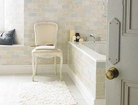 Chic Craquele White   Topps Tiles