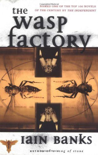#ThriftbooksTop10 The Wasp Factory: A Novel - Iain Banks. This book took me 3 tries to actually read, but I am overjoyed that I finally did. It has one of the most unique settings, a perfect background for this unusual tale of mental instability and psychological terror. It often manages to be completely horrifying and downright funny almost simultaneously. And this is horror, absolutely not for the faint hearted. There are scenes I still block from my mind. Kudos to the author!