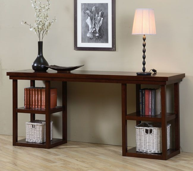 walnut cherry ladder console table by i love living 72