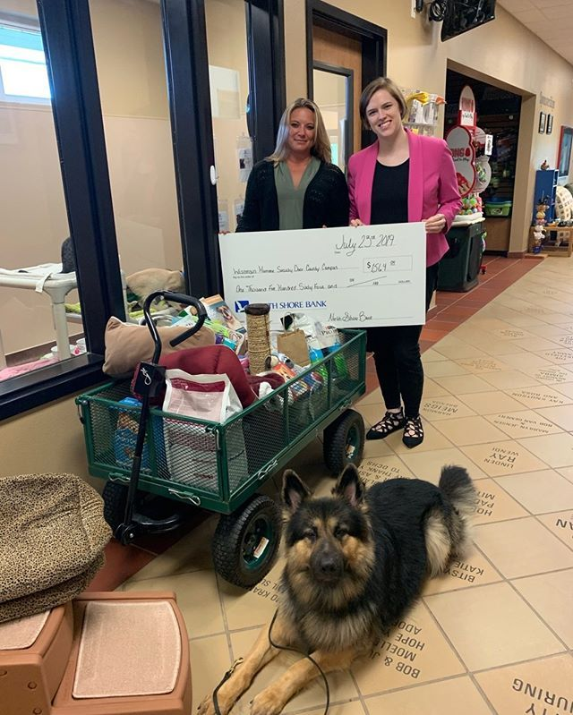 This Is Paw Esome News Thanks To The Generosity Of Our Customers Our Sturgeon Bay Office Raised Over 1500 For The D Humane Society Sturgeon Bay Door County