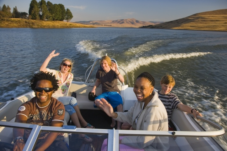 Boating on the Midmar Dam http://www.n3gateway.com/things-to-do/adventure-activities.htm