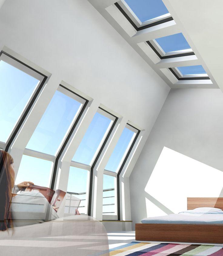1000 idee n over zolder kantoor op pinterest industrieel huis industrieel elegant en trap - Uitbreiding van de zolder ...