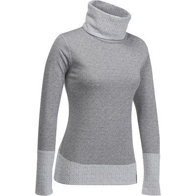 12€ Ropa esquí mujer Deportes de montaña - Camiseta térmica 2warm reversible mujer gris WED'ZE - Deportes de montaña