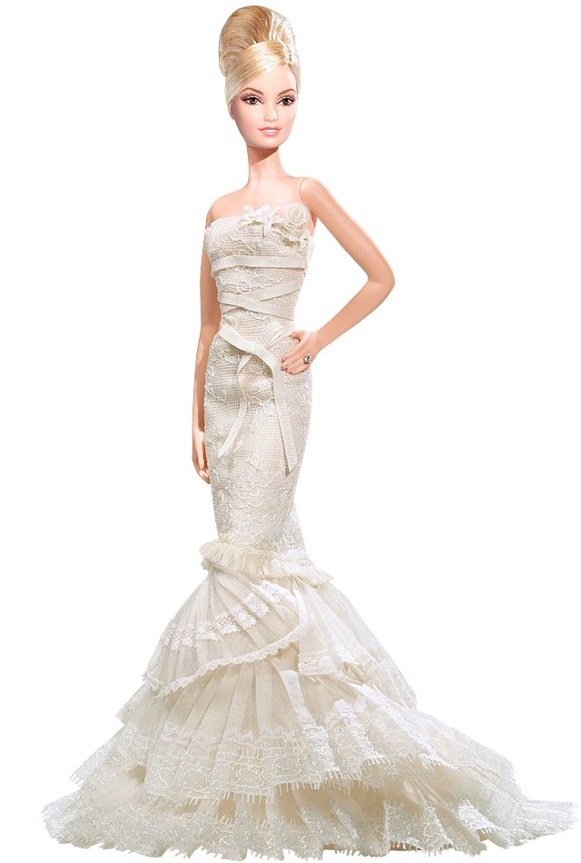 Barbie Wears All The Best Designer Wedding Dresses