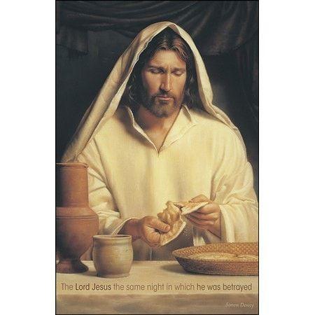He was Betrayed Christ Breaking Bread (1 Corinthians 11:23) Bulletins, 50
