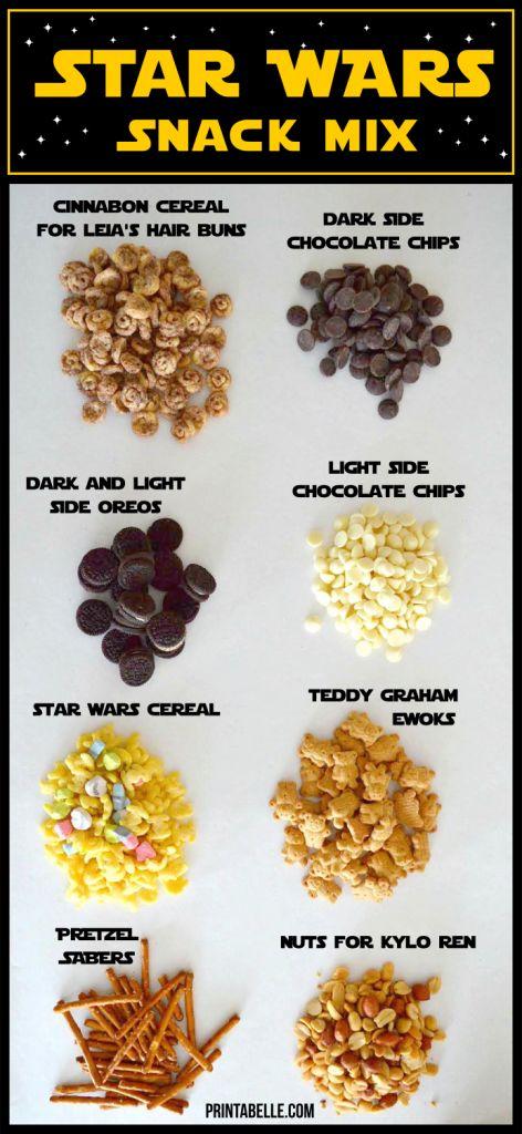 Star War Snack Mix Ingredients