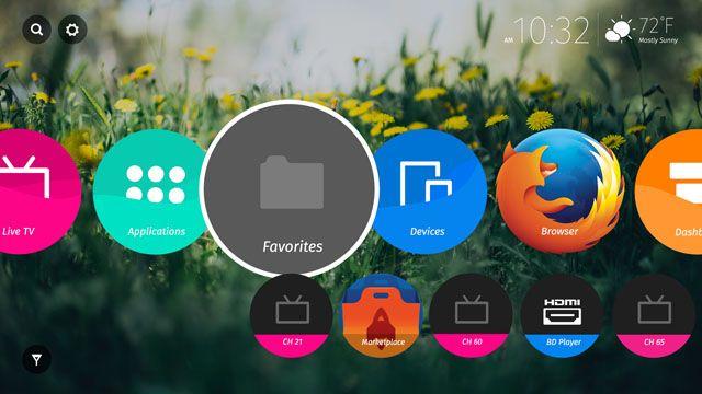 Firefox OS TV UI