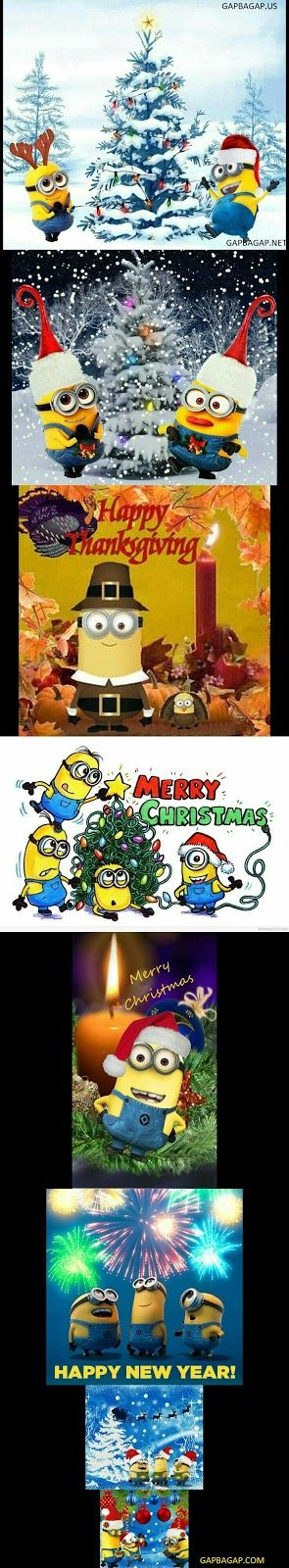 Merry Christmas Collection From Around The World By Minions