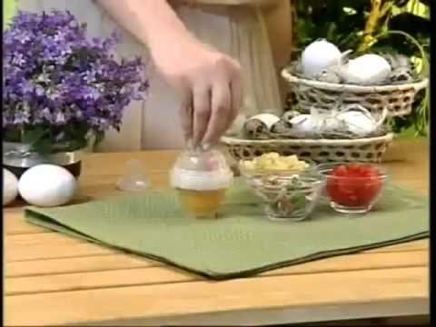 """Яйцеварка """"лентяйка"""" для варки яиц без скорлупы"""