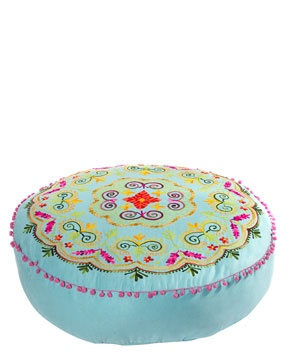 amazing floor cushion! at Rue la la on sale for $129.90 need an invite to shop.. use this link http://www.ruelala.com/invite/shoptoday