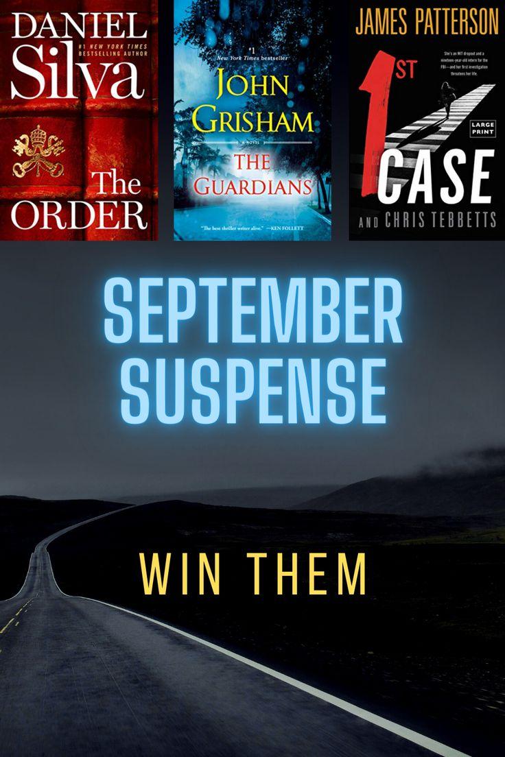 September 2020 Thriller Book Giveaway in 2020 Book
