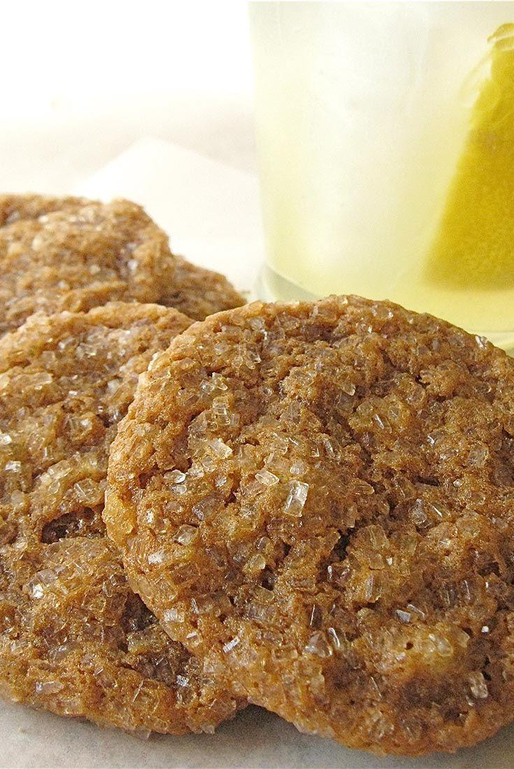Soft Molasses-Raisin Cookies Recipe