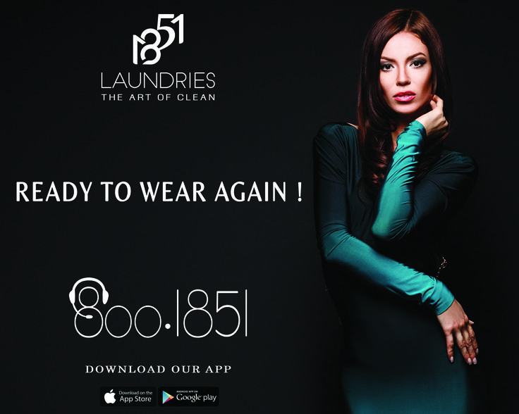 Dial 800 1851 Anywhere In Dubai And Sense The Luxurious Dry Cleaning.