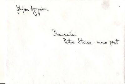 "Petre Stoica, remember necesar: Arhiva literara personala ""Petre Stoica"" - Stefan ..."