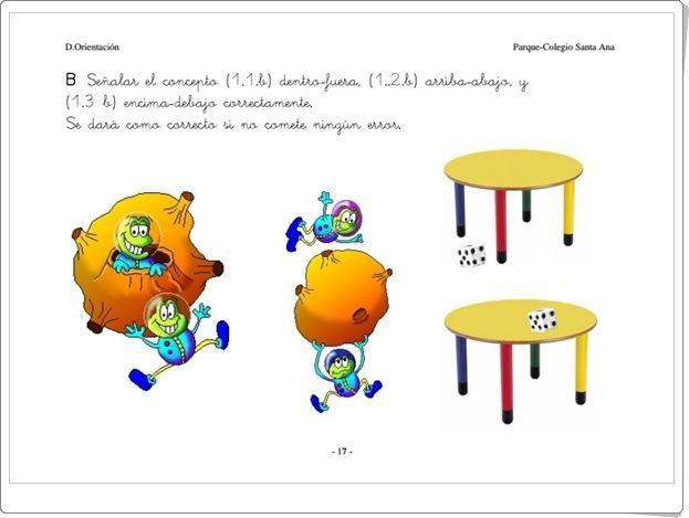 """Muy buen cuaderno para la """"Evaluación del Nivel de Competencia Curricular de Matemáticas en Educación Infantil"""" del Parque-Colegio Santa Ana de Valencia."""