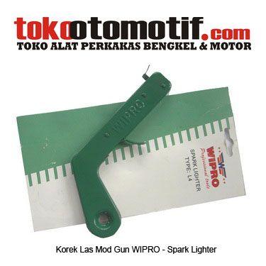 Kode : 02000100401 Nama : Korek Las Mod Gun WIPRO Merk : WIPRO Status : Siap  Berat Kirim : 1 kg
