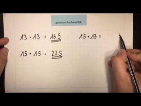 UNGLAUBLICH Multiplizieren OHNE zu rechnen! | Mathematik | Grundschule – YouTube – Simone Kouschil