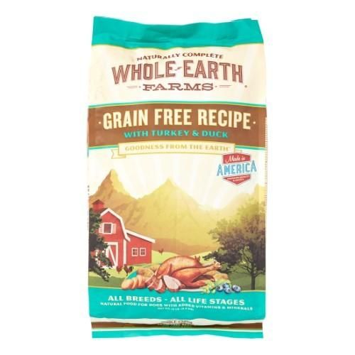 Merrick Whole Earth Farms Grain Free Recipe Dry Dog Food Turkey