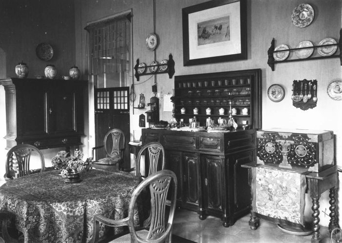 M.C. Westerman's dining room